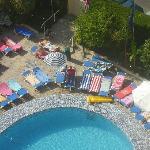 Ambassador swimming pool with towels!