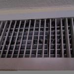Mold on the AC vent in the replacement room they tried to give me, room 411.