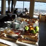Desayuno desde el hotel EXCELENTE, muy completo