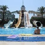 front of water slides- time: 10 am