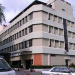 Facade of Telang Usan Hotel, Kuching