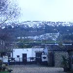 View of stables and cleeve hill