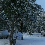 Estacionamento depois da neve