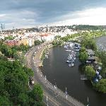 View from the top of the fortress