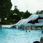 free water slides