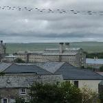 View across towards Dartmoor Prison