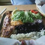 Fish Tacos at  Buxton Munch Company