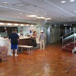 Lobby of Hiroshima Comfort Hotel