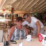me and alex (cupids restaurant)