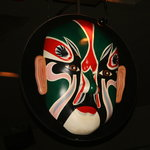 One of the many beautiful masks
