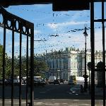 winter palace from Nevsky 3 gate
