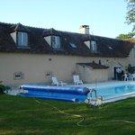La piscine et lieu d'apéro