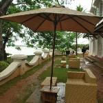 The seaside restaurant