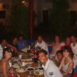 dinner with alaska crew!