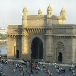 Gateway of India - view from taj bussiness center window