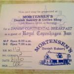 Free coupon from Royal Copenhagen Inn