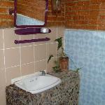 Bathroom in the twin room
