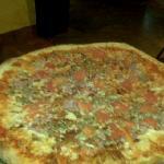 the medium size pizza