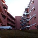 hotels pool area