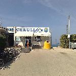 l'ingresso alla spiaggia