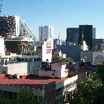 vista de la zona roza desde el balcon del Hotel
