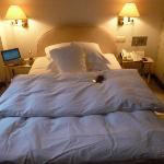Das war mein Bett im Excelsior Ernst