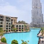The Palace is next to the Burj Khalifa (828mtr)