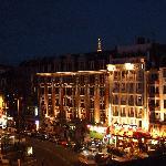 La Place de la Gare bei Nacht