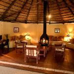 The Lounge at Maramba River Lodge