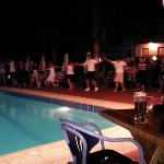 greek night at sandys great time