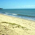 Praia do Rio do Peixe - em frente ao hotel