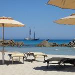 Una spiaggia di Villasimius
