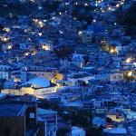 Night view from Casa Zuniga