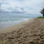 Very unpopulated beach.  We were often the only ones out there.