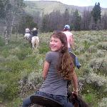 Riding the Upper Pasture