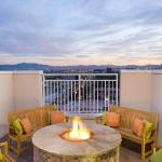 Roof Top Fire Pit with Panoramic View of the Strip