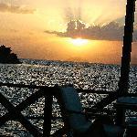 Stunning sunset waterfront Restaurant