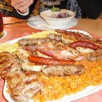 Amazing portions