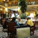 Afternoon Tea - Brown Palace lobby