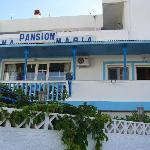 Vue extérieure de la pension