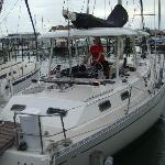 """Wild Thing - """"our"""" boat"""