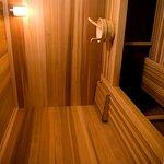 Sauna at Spa Lux