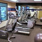 Enjoy our state of the art fitness room