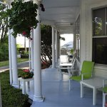 Front Porch of the Colonial Inn - a lovely house