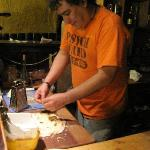 Chef Eduardo in action!