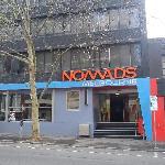 La façade de l'entrée