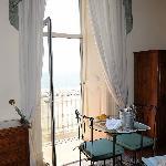 Inside Azalea Room in Parteno Bed and Breakfast