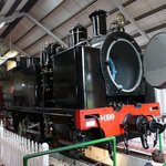 The H199 Locomotive at Fell Locomotive Museum Featherton NZ