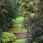 Brenner Garden along Lichtentaler Allee from our room