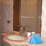Lavabo bagno in camera